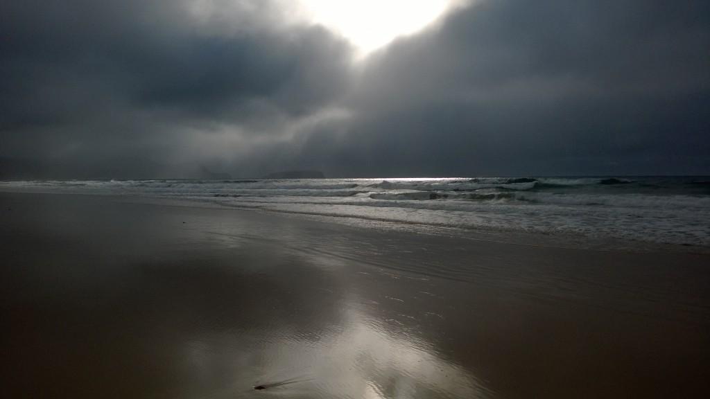 Porto Santo Portogallo Nuvole in Spiaggia a Porto Santo Portogallo Zoom Giornale di Brescia